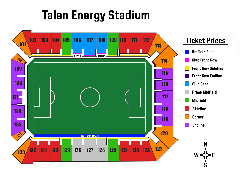 Talen Energy Stadium Virtual Tour